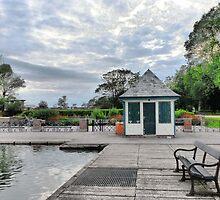 The Boating Lake Kiosk. by Lilian Marshall