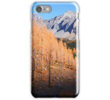 Autumnal Rockies iPhone Case/Skin