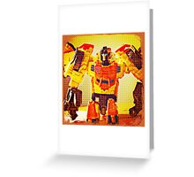 Sandstorm Portrait Greeting Card