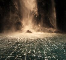 Lord of the Rings Waterfall by Jill Fisher