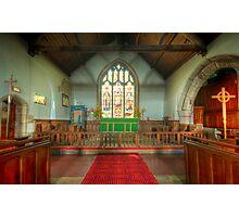 St Michael's Church Alter Photographic Print