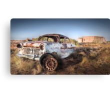 Abandoned Old Car Canvas Print