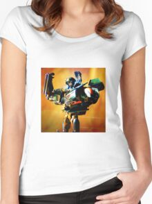HotShot Portrait Women's Fitted Scoop T-Shirt