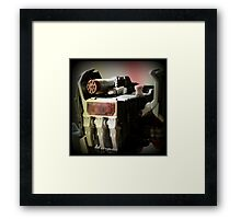 Soundblaster Portrait Framed Print