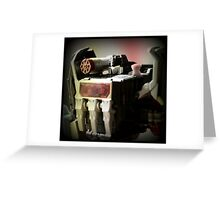 Soundblaster Portrait Greeting Card