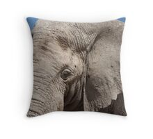 Loving the Mud Throw Pillow