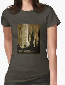 Visit Kanto,  Pokemon Poster Mt. Moon Womens Fitted T-Shirt