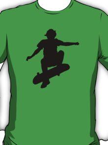 Skater Large - Black T-Shirt
