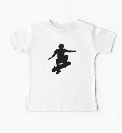 Skater Large - Black Baby Tee