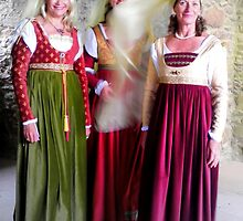 Urquhart Castle Ladies by ©The Creative  Minds