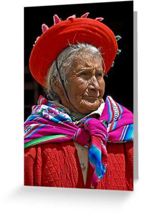 Peruvian grandmother by Konstantinos Arvanitopoulos