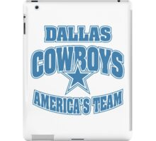 Dallas Cowboys American Team iPad Case/Skin