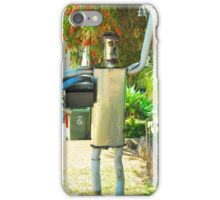 The Tin Man Mailbox iPhone Case/Skin
