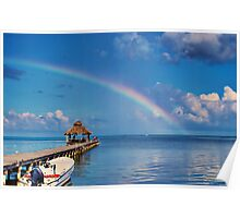 Pier Ranbow Poster
