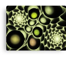 Hive Abstract Fractal Canvas Print