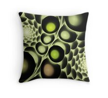 Hive Abstract Fractal Throw Pillow