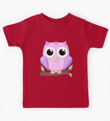 Bright Eyed Owl Kids Tee
