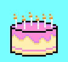 Pixel Cake by Joseph Uzzo