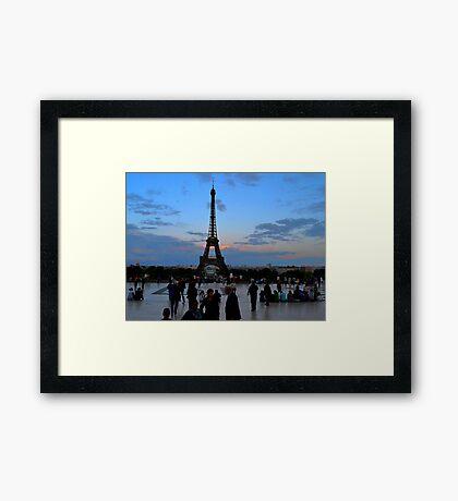 Trocadero Plaza Framed Print