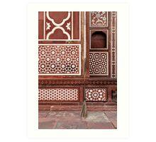 Gate of the Mausoleum of Itmad-ud-Daula, Agra Art Print