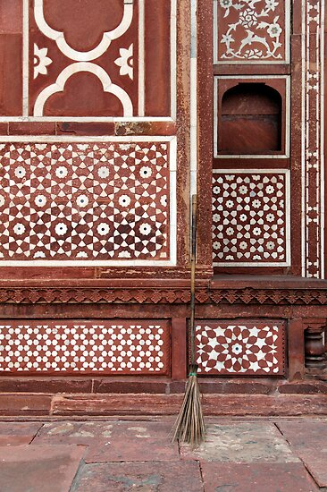 Gate of the Mausoleum of Itmad-ud-Daula, Agra by nekineko