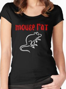 Funny Mouse Women's Fitted Scoop T-Shirt