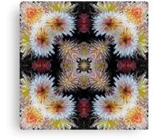 Dazzling Dahlias Canvas Print
