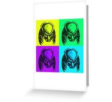 Predator warhol Greeting Card