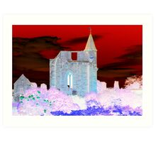 Fortrose Cathedral Art Print