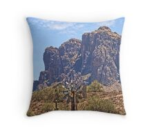 Superstition Windmill HDR Throw Pillow