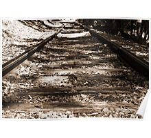 Lonely Rails Poster