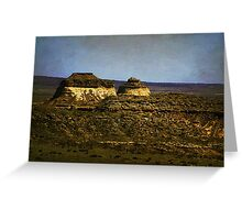 Pawnee Buttes Twilight Greeting Card