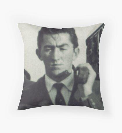 MIO PADRE...195O  ITALIA--EUROPA- VETRINA RB EXPLORE - Throw Pillow