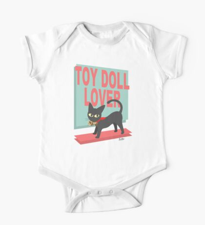 Toy Doll Lover One Piece - Short Sleeve