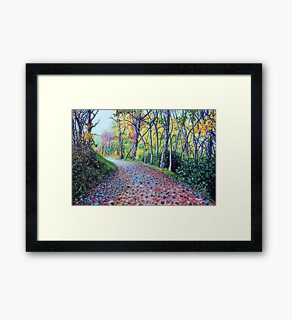 'Where The Day Takes Us' Framed Print