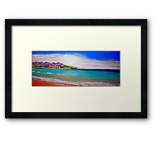 Bondi Colours  Framed Print