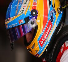 Fernando Alonso by Srdjan Petrovic