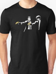 BANKSY PULP FICTION urban art graffiti movie T-Shirt
