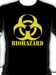 BIOHAZARD emo gamer cool rock music T-Shirt