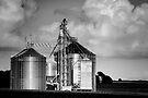Midwest Structure B&W by KBritt