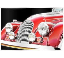 Morgan motor vehicle- classic car Poster