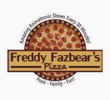 Freddy Fazbear's Pizza One Piece - Short Sleeve
