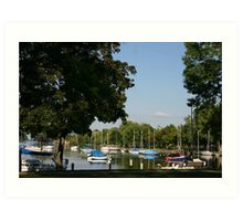 Neenah Harbor Art Print