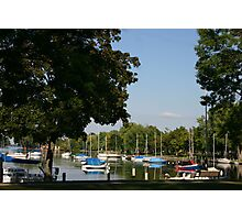 Neenah Harbor Photographic Print