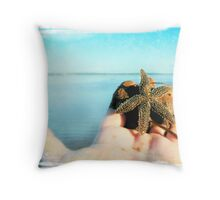 Marine offering Throw Pillow