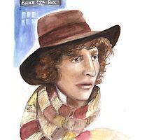 Tom Baker by Jessica Feinberg