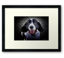 Can We Go Swimming Now, Huh, Can We, Huh, Can We? Framed Print