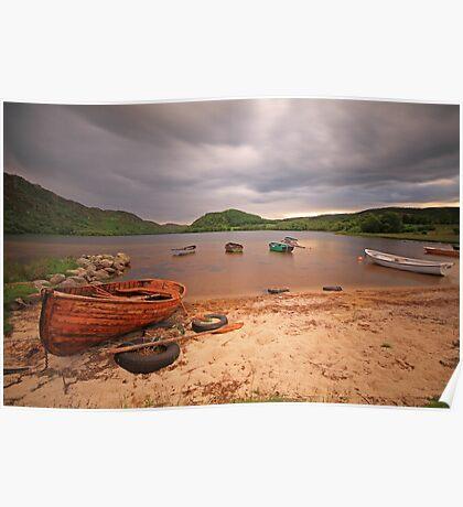 Loch Ruthven, Scottish Highlands. Poster