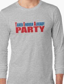 Tea Party Shirt Long Sleeve T-Shirt