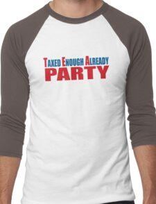 Tea Party Shirt Men's Baseball ¾ T-Shirt